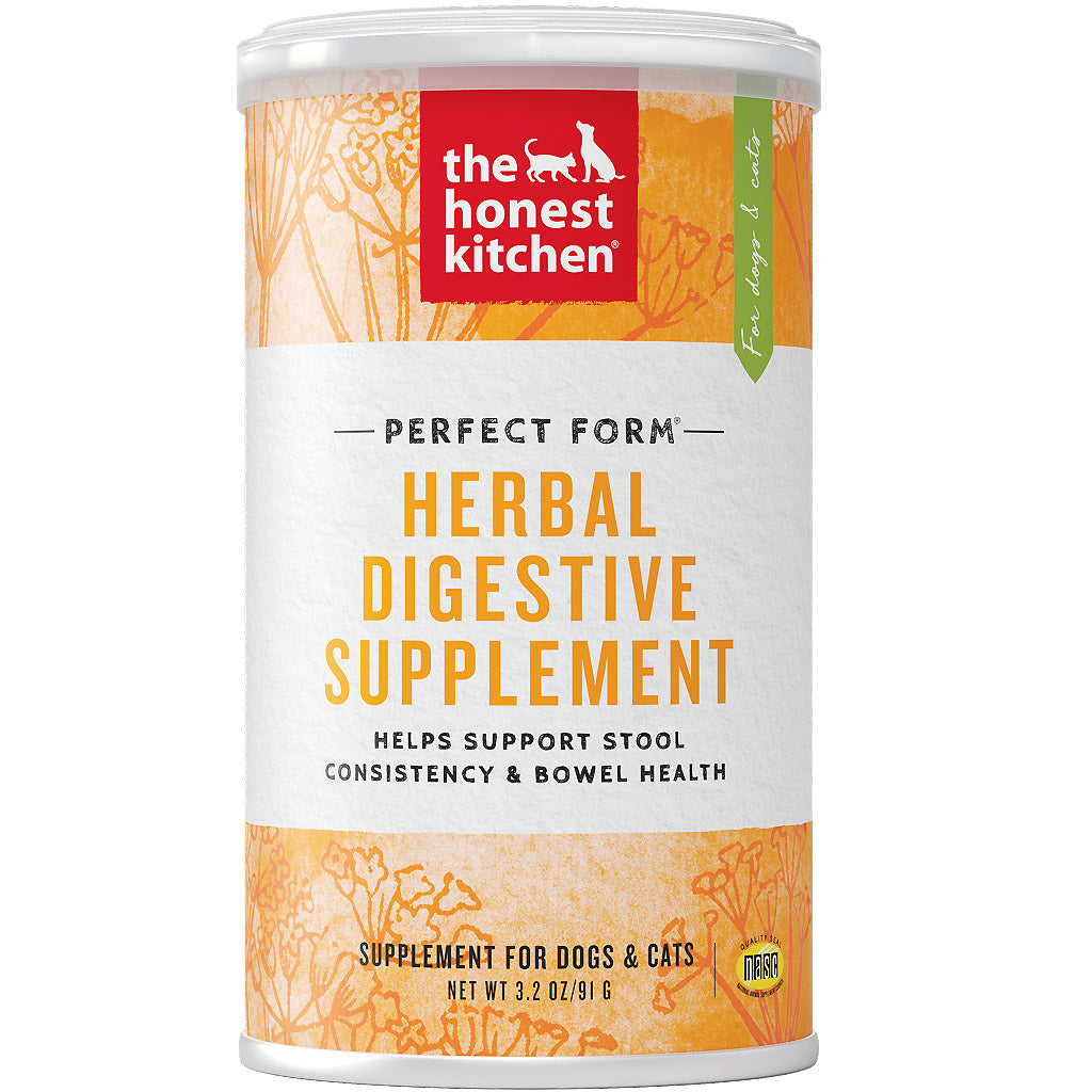 15% OFF [NEW]: The Honest Kitchen® Perfect Form Herbal Digestive Supplement Dog & Cat Supplement (91g)