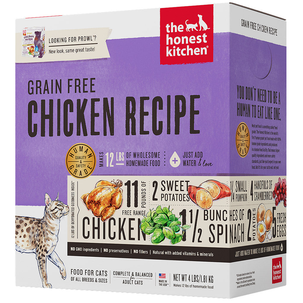 15% OFF + FREE TREATS: The Honest Kitchen® Prowl Chicken Grain-Free Dehydrated Cat Food (2 sizes)