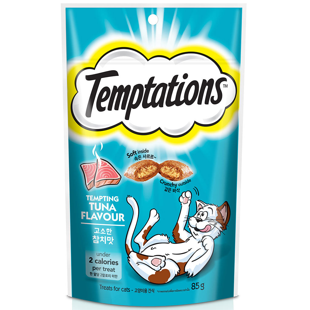 10% OFF: Temptations® Tempting Tuna Cat Treat 85g