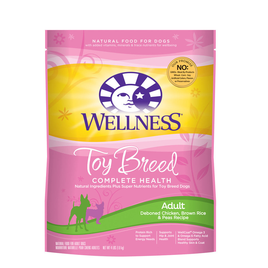 Wellness® Complete Health Toy Breed Dry Dog Food