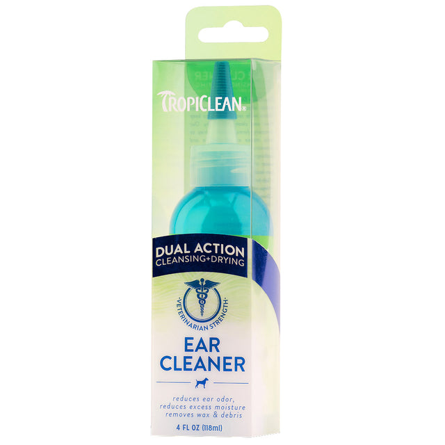20% OFF: TropiClean® Dual Action Ear Cleaner for Dogs & Cats (118ml)