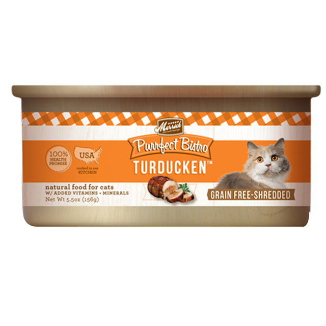 33% OFF: Merrick® Purrfect Bistro Minced Turducken Grain-Free Canned Cat Food 156g (3–24pcs)