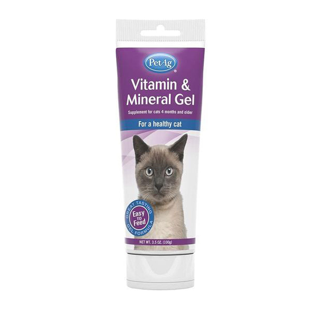 PetAg® Vitamin & Mineral Gel Supplement for Cats (99g)