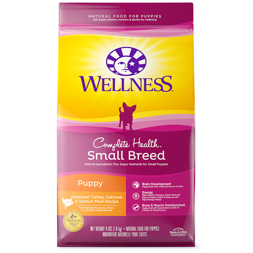 25% OFF: Wellness® Complete Health Small Breed Puppy Dry Dog Food (1.8kg)