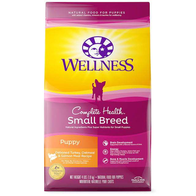 20% OFF: Wellness® Complete Health Small Breed Puppy Dry Dog Food (1.8kg)