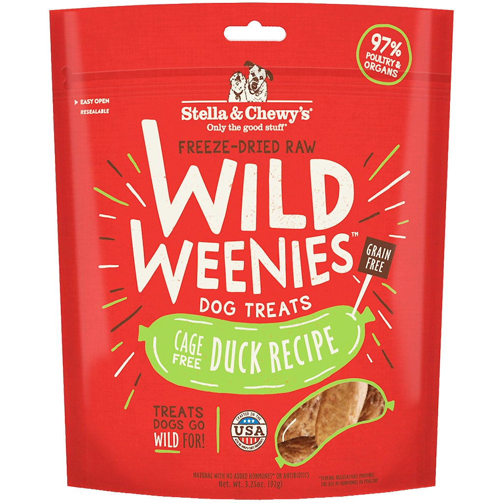 2 FOR $25 [CNY] Stella & Chewy's ® Wild Weenies Freeze-Dried Dog Treats (4 Flavours)