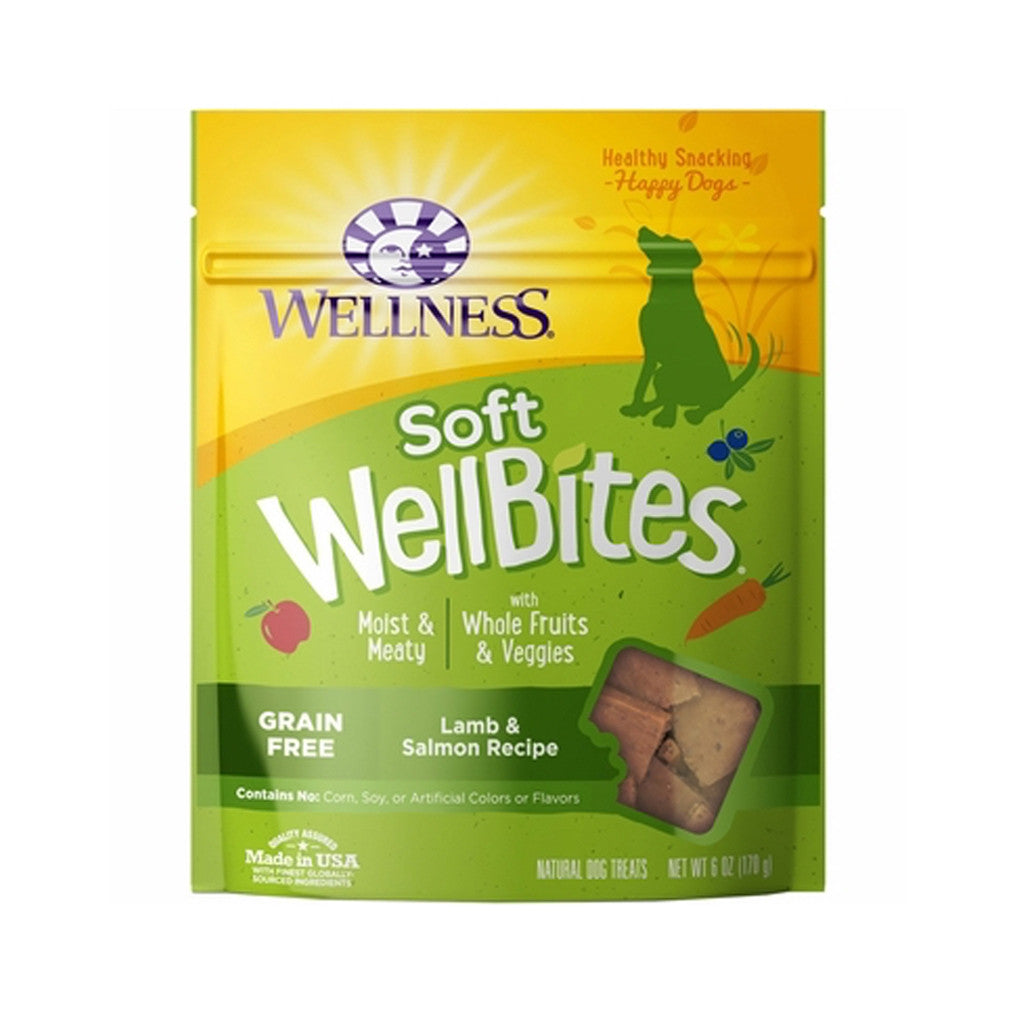 20% OFF: Wellness® Soft WellBites Lamb & Salmon Dog Treats 170g