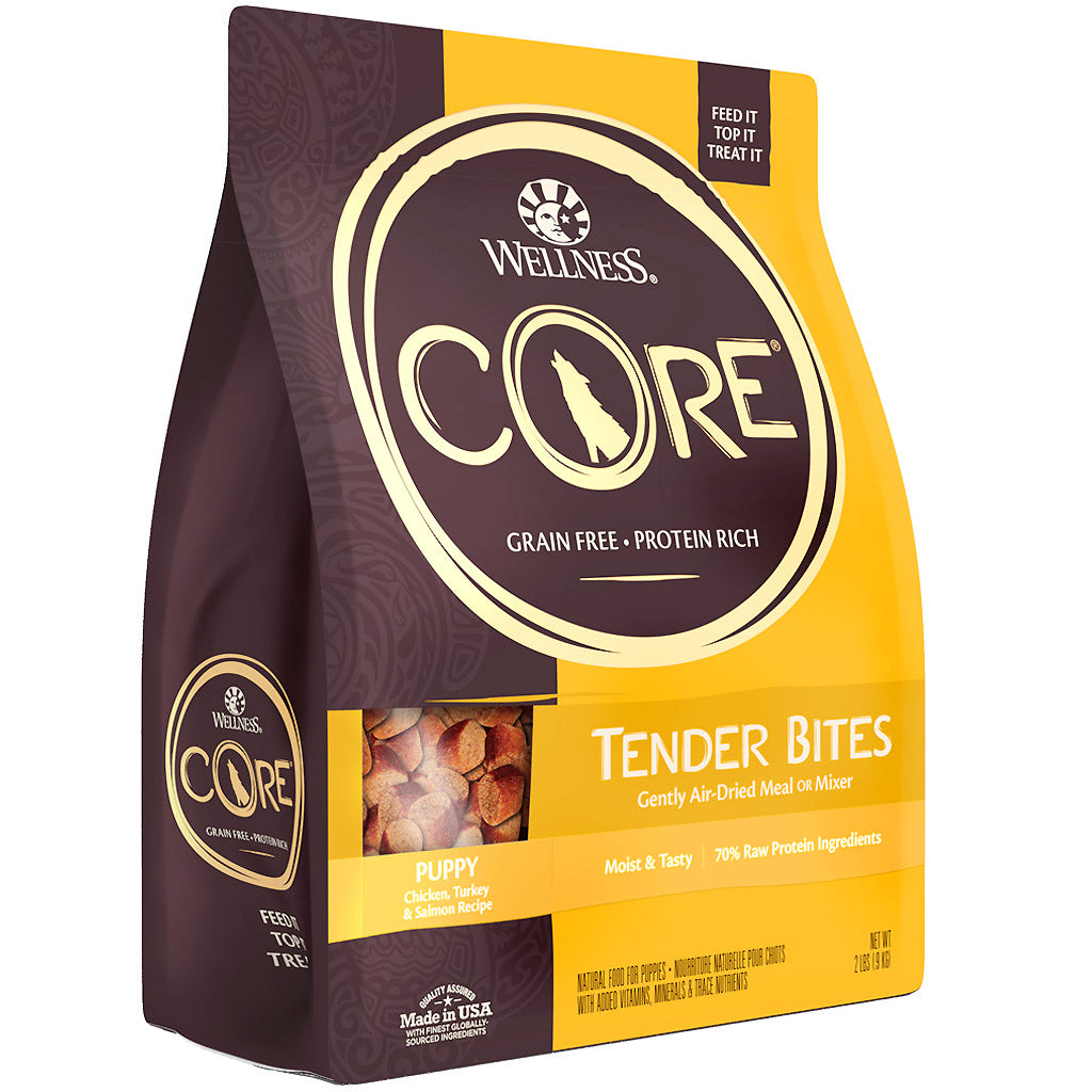 35% OFF + $2 VOUCHER: Wellness® CORE Tender Bites Air-Dried Dry Dog Food 900g (3 Flavours)