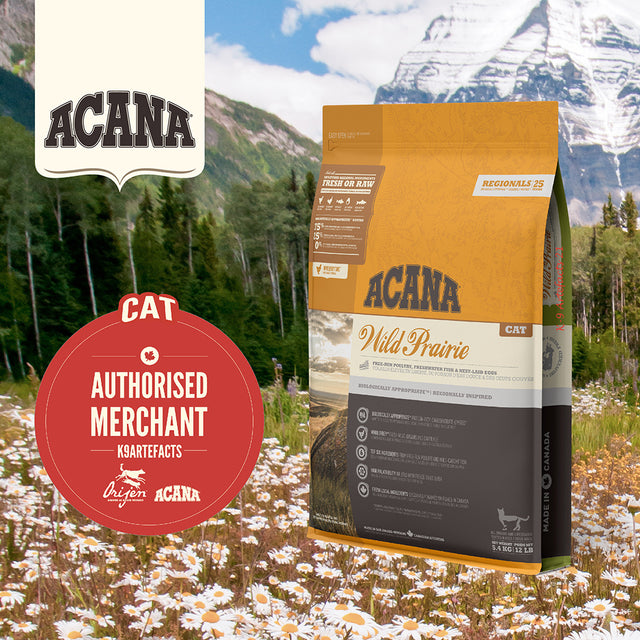 30% OFF + FREE GIFT [11.11]: ACANA® Wild Prairie Dry Cat Food (2 sizes)