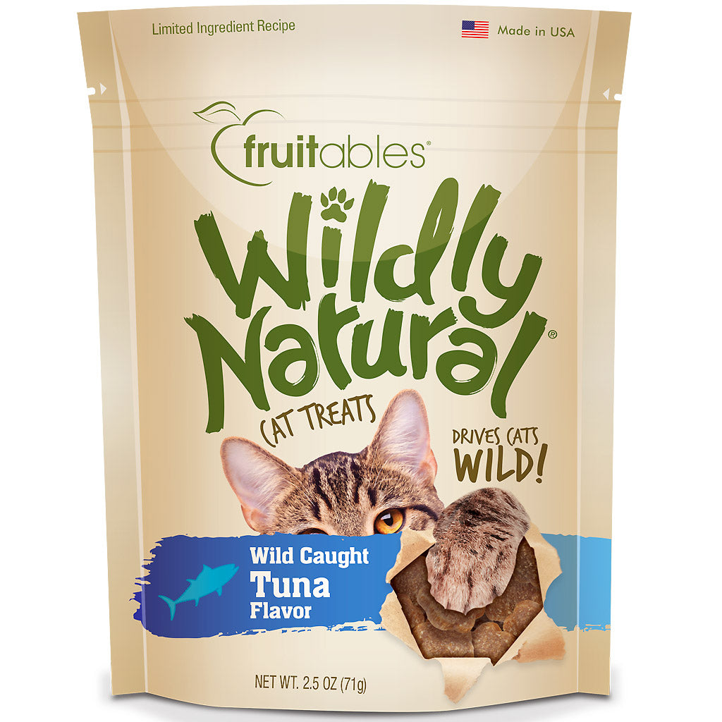$5 ONLY [CNY21]: Fruitables® Wildly Natural Wild Caught Tuna Cat Treats (71g)
