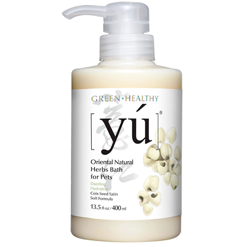 20% OFF: YU® Coix Seed Satin Soft Formula Pet Shampoo (2 sizes)