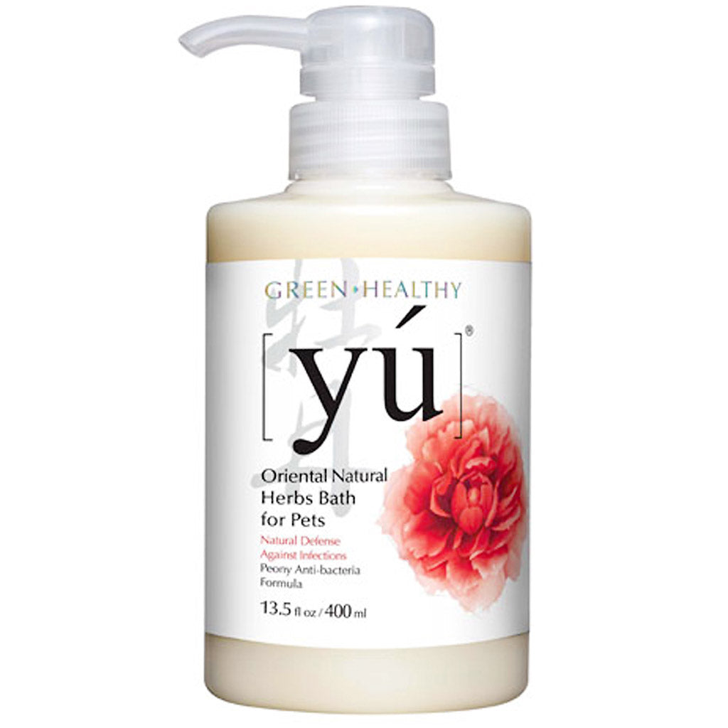 20% OFF: YU® Peony Anti-Bacterial Formula Pet Shampoo (2 sizes)