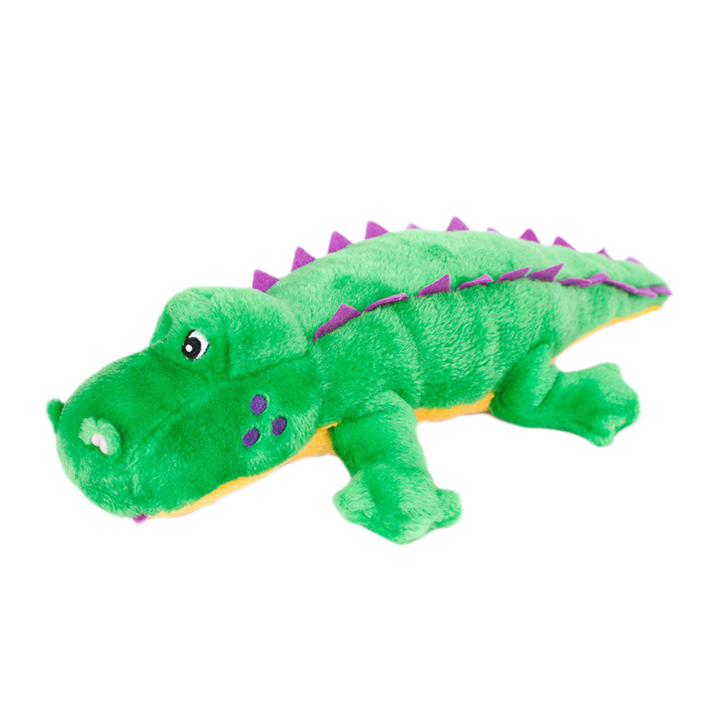 ZippyPaws® Grunterz Alvin the Alligator Dog Toy