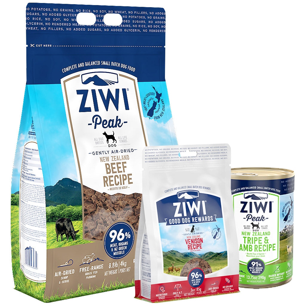 30% OFF + FREE ZIWI TREATS & CAN [9.9 SALE]: Ziwi Peak® Premium Air-Dried Beef Dry Dog Food (4 sizes)