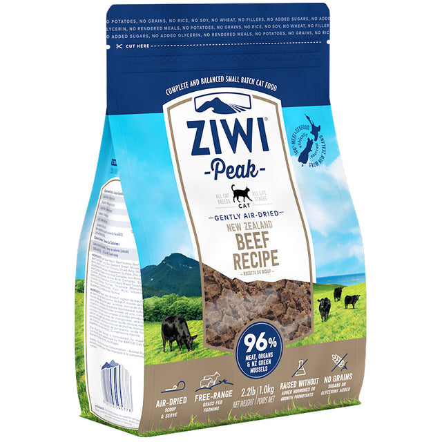 30% OFF [GSS20]: Ziwi Peak® Premium Air-Dried Beef Dry Cat Food (2 sizes)