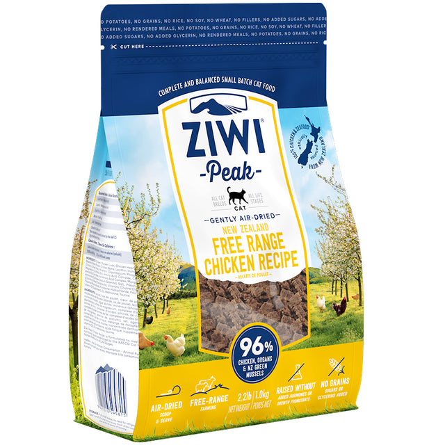 30% OFF [GSS50]: Ziwi Peak® Premium Air-Dried Chicken Dry Cat Food (2 sizes)