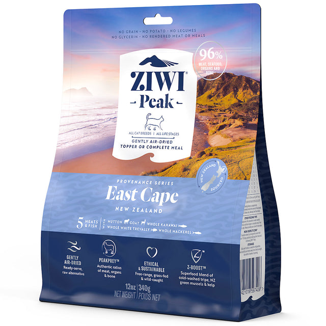 20% OFF: Ziwi Peak® Provenance Air-Dried East Cape Dry Cat Food (2 sizes)
