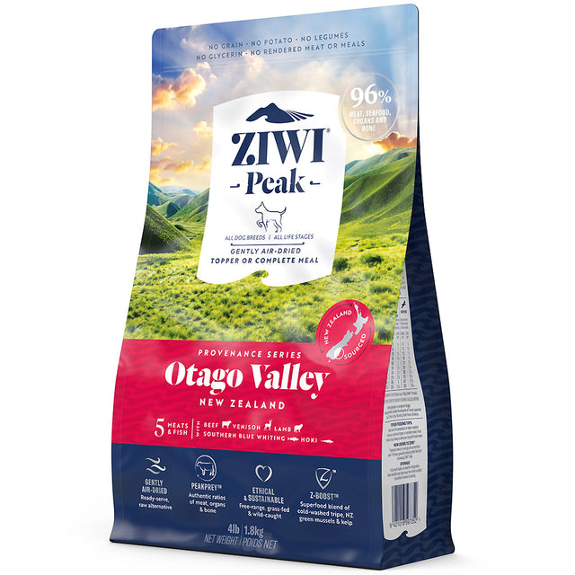 20% OFF: Ziwi Peak® Provenance Air-Dried Otago Valley Dry Dog Food (3 sizes)