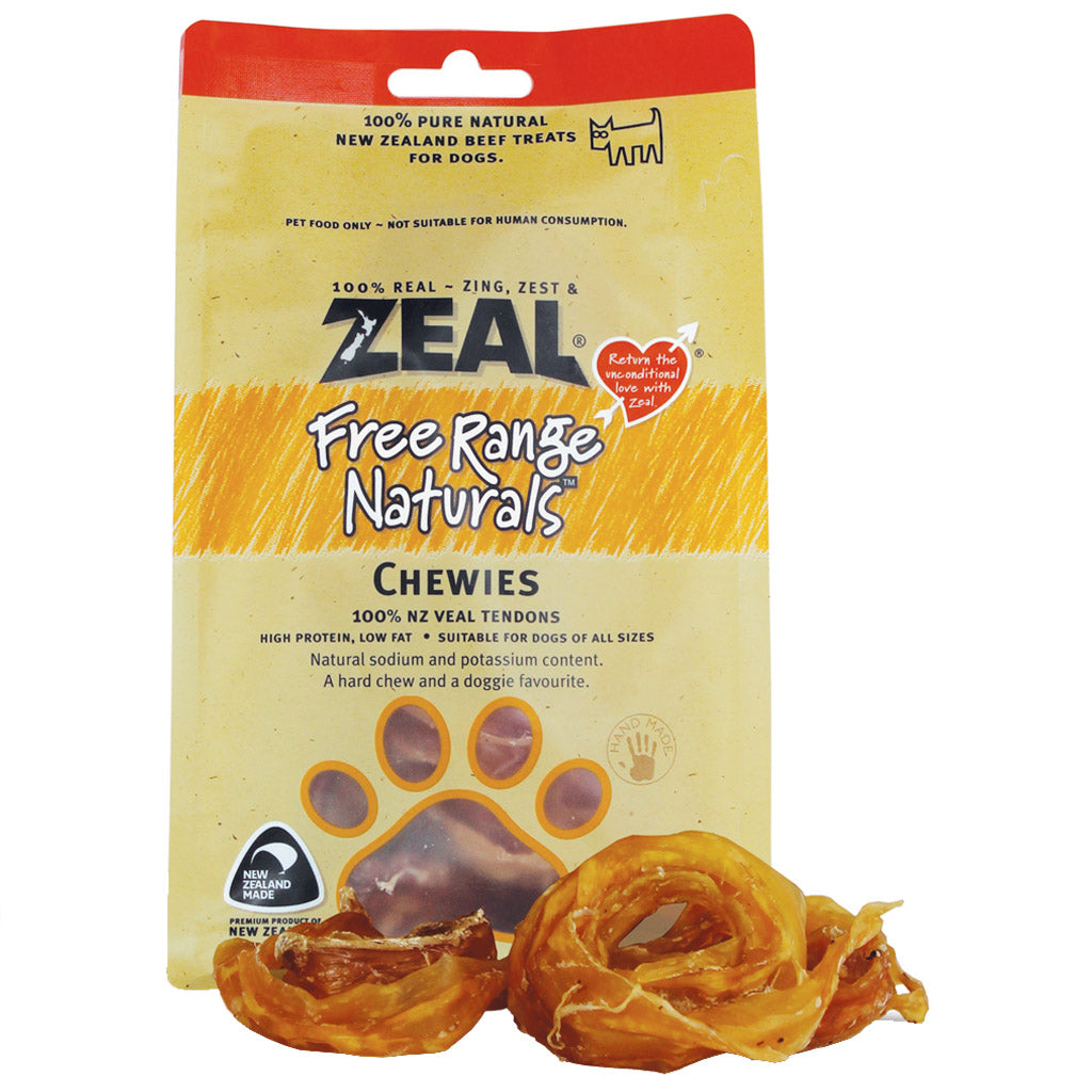BUY 2 FREE 1: Zeal® Free Range Naturals Veal Chewies 125g