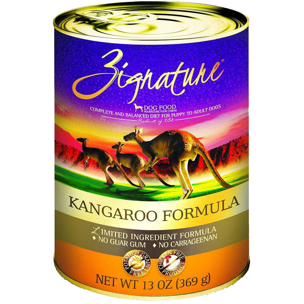 33% OFF: Zignature® Kangaroo Grain-Free Canned Dog Food 369g (12pcs)