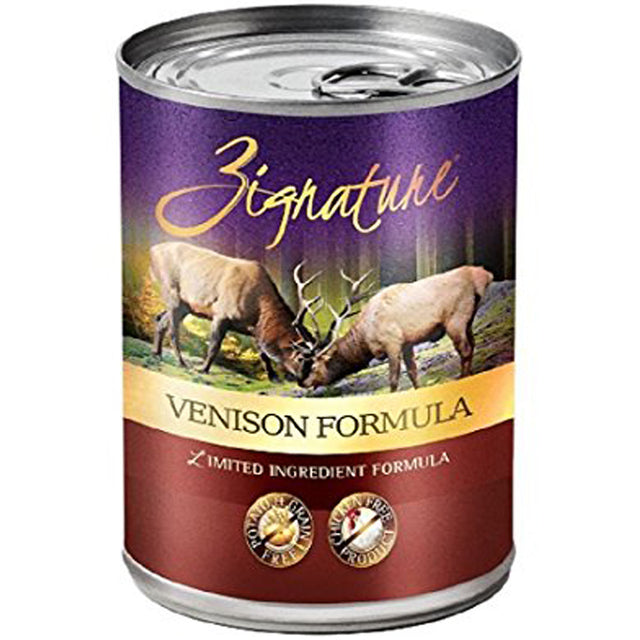 35% OFF: Zignature® Venison Grain-Free Canned Dog Food 369g (12pcs)