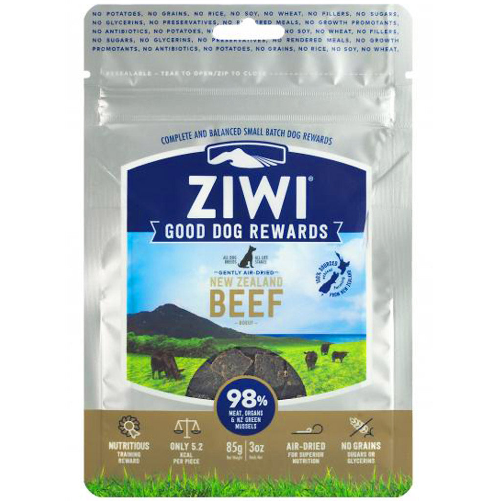 25% OFF: Ziwi Peak® Premium Air-Dried Beef Good Dog Treats (85g)