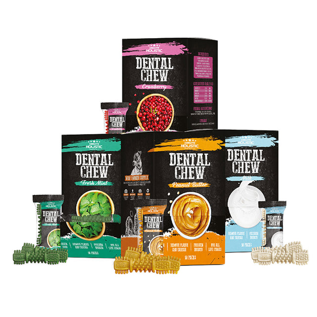 50 FOR $48 [PETSALE]: Absolute Holistic® Dog Dental Chew 25g (6 Flavours)