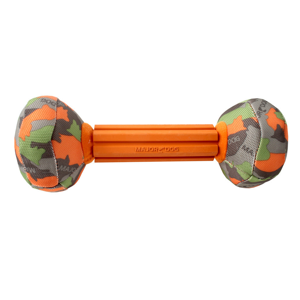 50% OFF [XMAS20]: Major Dog® Barbell Large Dog Toy