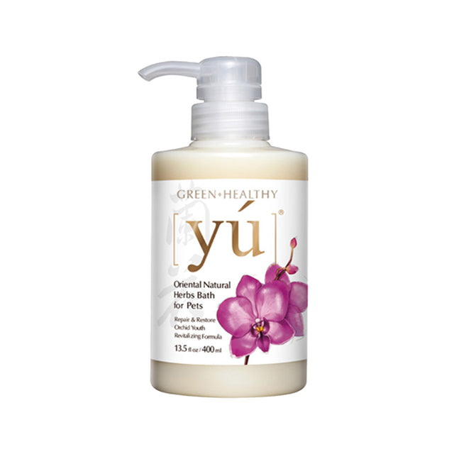 20% OFF: YU® Orchid Youth Revitalizing Formula Pet Shampoo (2 sizes)