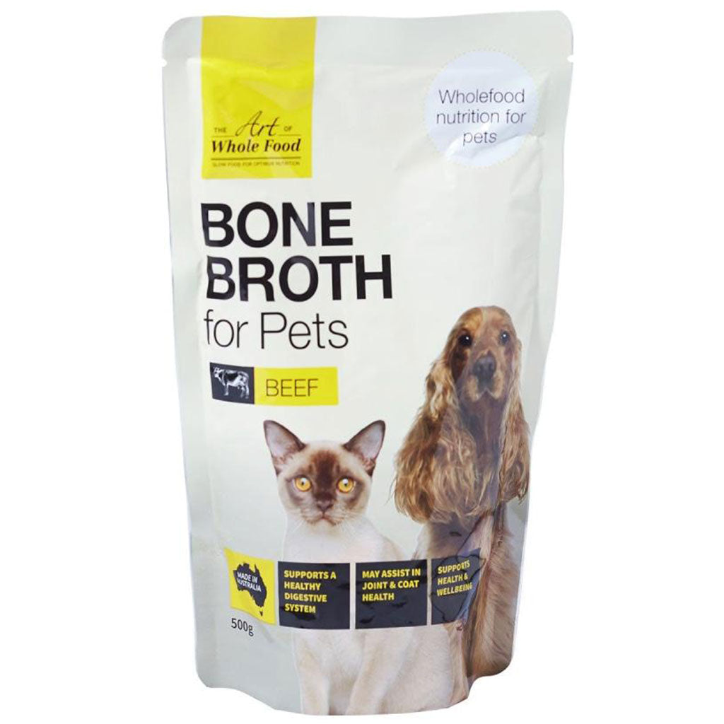 10% OFF: The Art Of Whole Food® Beef Bone Broth For Dogs & Cats 500g
