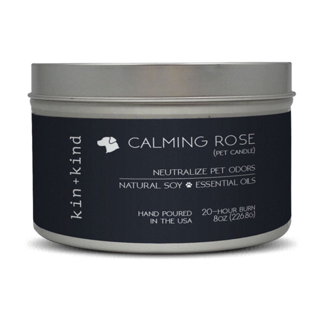 15% OFF [PETSALE]:  Kin+Kind® Calming Rose Pet Candle