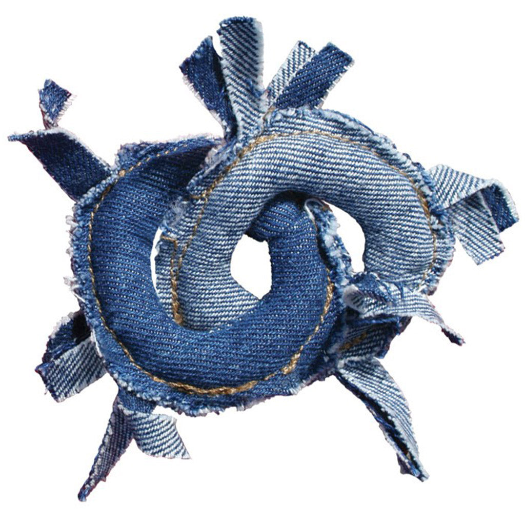 15% OFF: KONG® Denim Rings Cat Toy