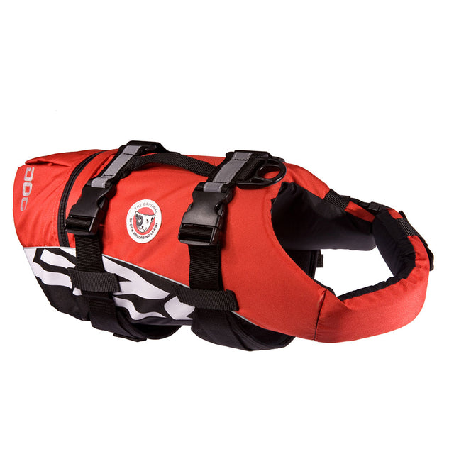 15% OFF: EzyDog® DFD Dog Floatation Device Life Jacket  – Red (5 sizes)