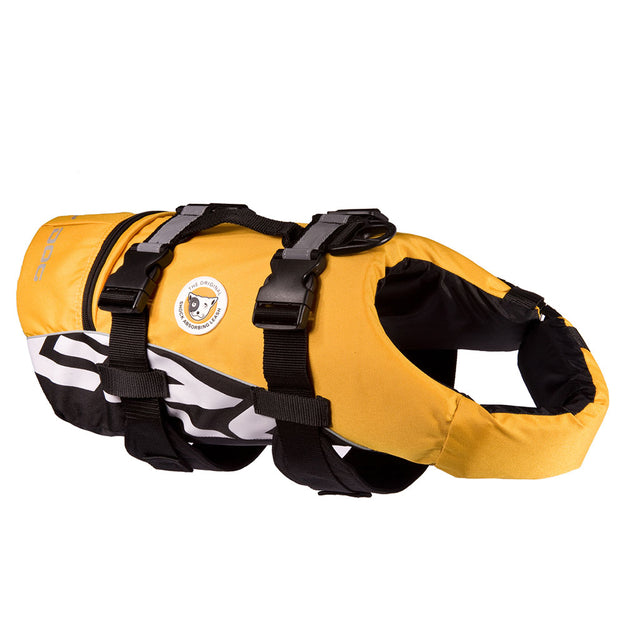 15% OFF: EzyDog® DFD Dog Floatation Device Life Jacket (5 sizes)  – Yellow