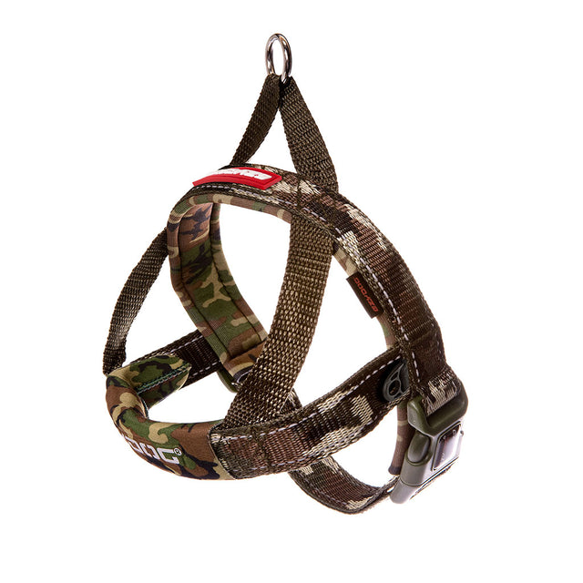 15% OFF: EzyDog® Quick Fit Dog Harness – Camo (6 sizes)