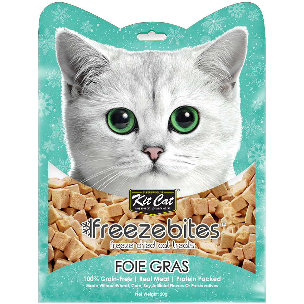 3 FOR $10 [XMAS19]: Kit Cat® Freeze Bites Cat Treats - Foie Gras (15g)