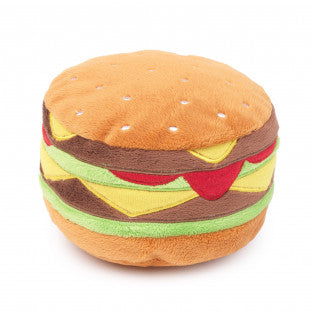 10% OFF: FuzzYard® Hamburger Plush Dog Toy