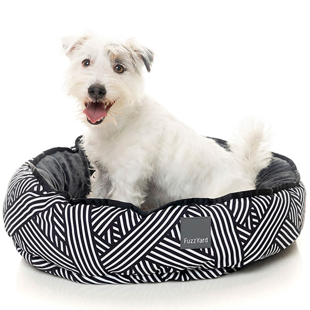 15% OFF + FREE TREATS: FuzzYard® Reversible Dog Bed – Northcote (3 sizes)