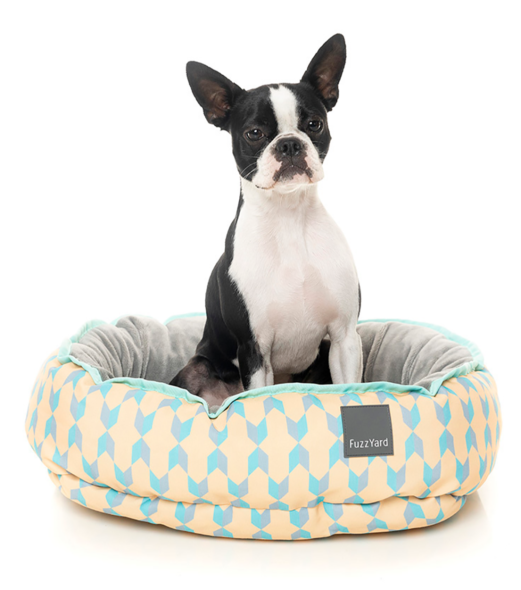 15% OFF + FREE TREATS: FuzzYard® Reversible Dog Bed – Chelsea (3 sizes)