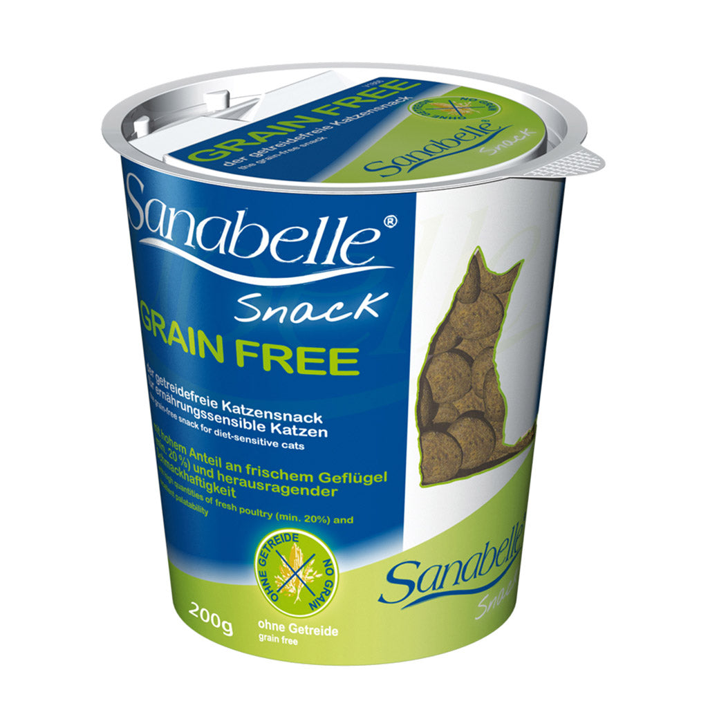 [SALE: BUY 3@22] Sanabelle® Grain Free Snack Cat Treat (200g)
