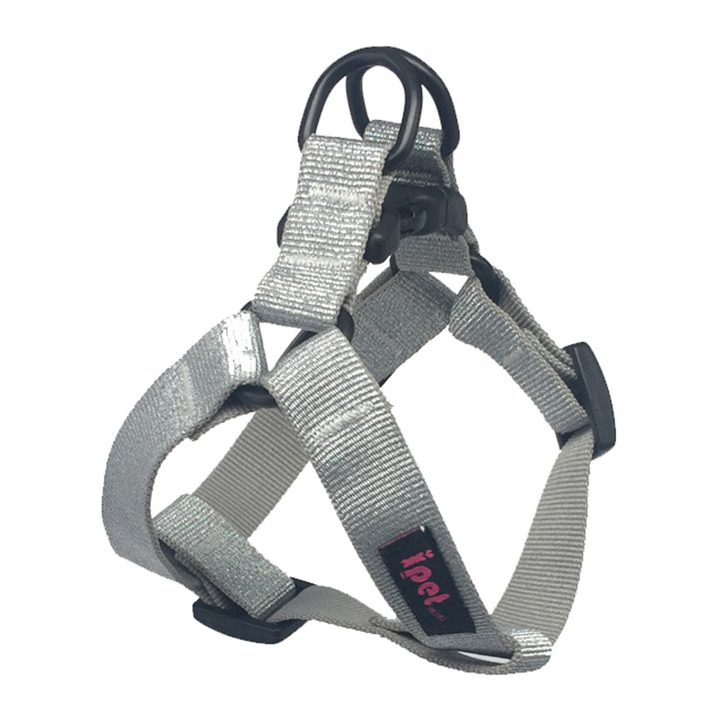 40% OFF: Ipet Mini® Bling Collection Dog & Cat Harness (Silver)