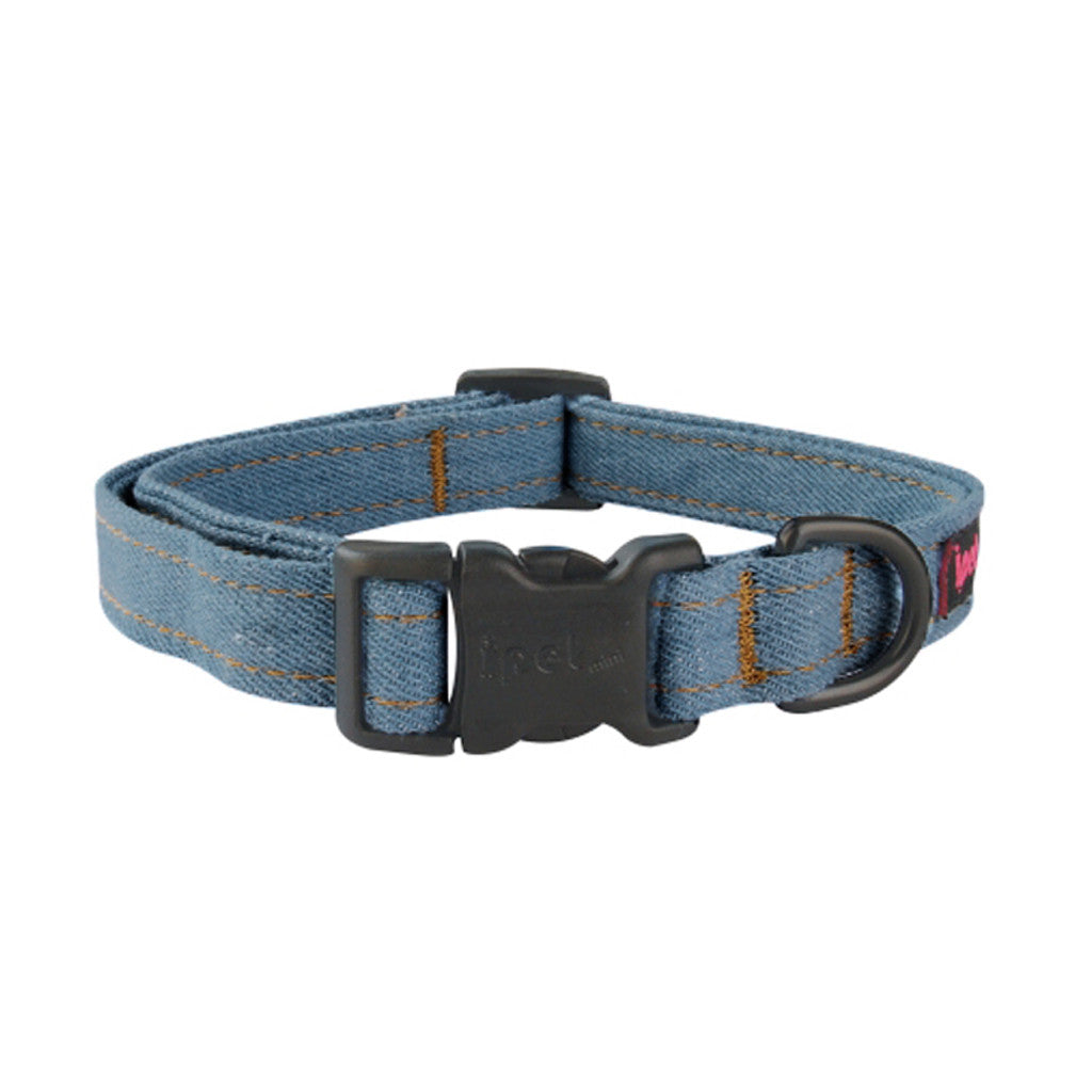 60% OFF [EXPO20]: Ipet Mini® Denim Plus (Light Denim) Dog & Cat Collar (3 sizes)