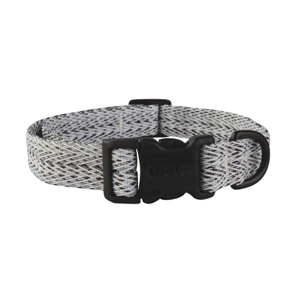 40% OFF: Ipet Mini® Herringbone Collection Dog & Cat Collar (Black & White)