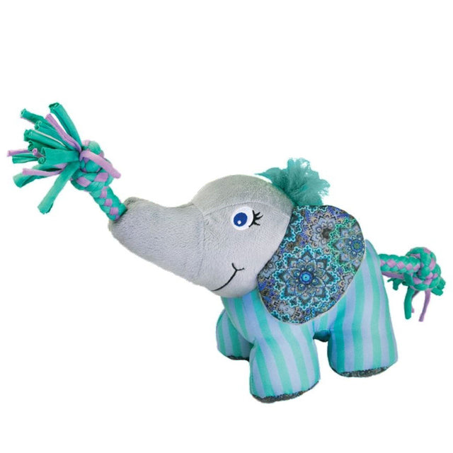 15% OFF [NEW] KONG® Knots Carnival Elephant Dog Toy (2 sizes)