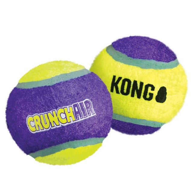 15% OFF [NEW] KONG® CrunchAir Ball Dog Toy (Medium)