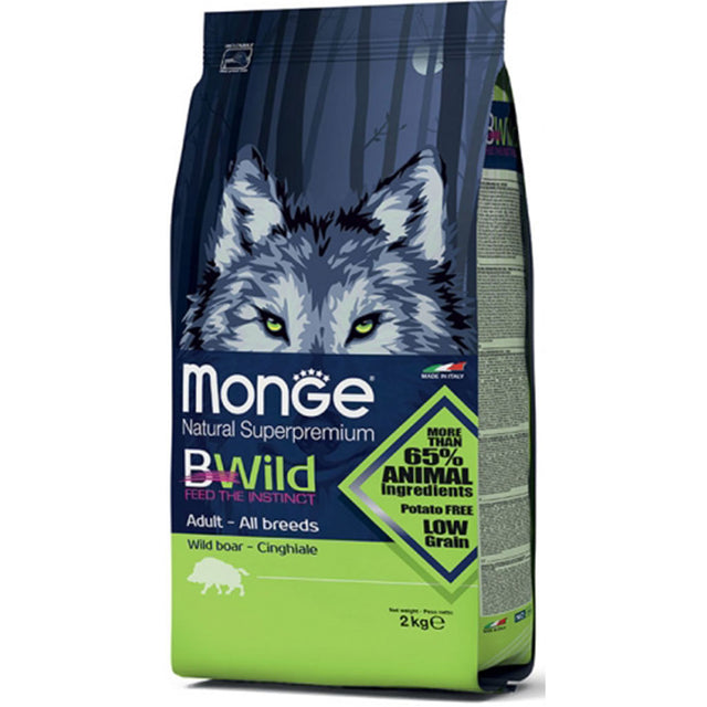 60% OFF [GSS19]: Monge® BWild All Breeds Adult Wild Boar Dry Dog Food (2 sizes)