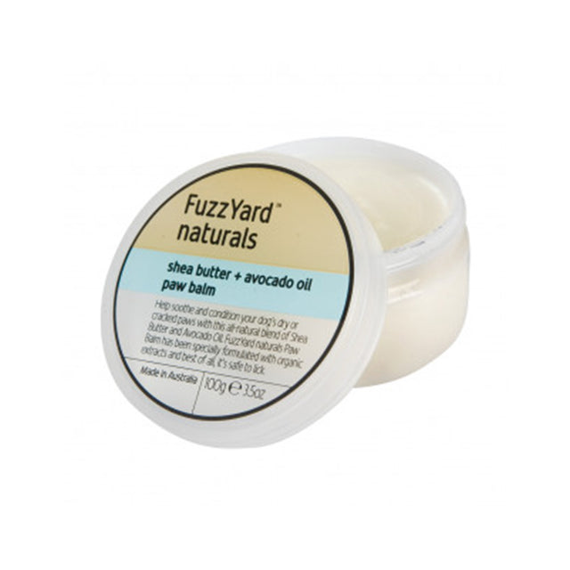 10% OFF: FuzzYard® Shea Butter & Avocado Oil Paw Balm (100g)