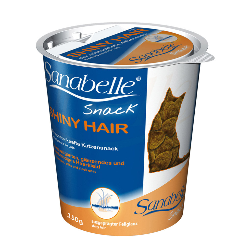 [SALE 3@22] Sanabelle® Shiny Hair Snack Cat Treat (150g)