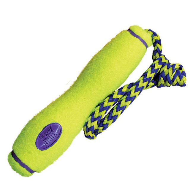 15% OFF: KONG® Air Squeaker Fetch Stick with Rope Dog Toy (S–L)