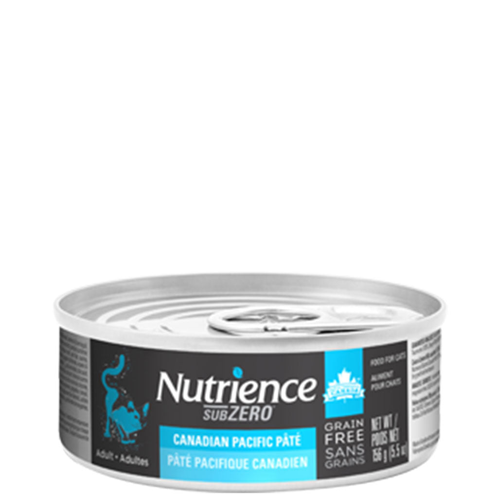 Nutrience® SubZero Canadian Pacific Pate Grain-Free Canned Cat Food (156g)